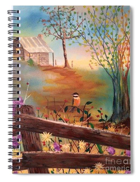 Beyond The Gate Spiral Notebook
