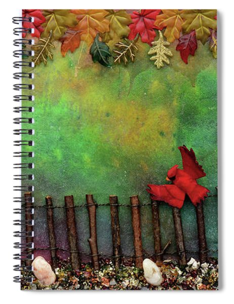 Beyond The Iron Gate Spiral Notebook