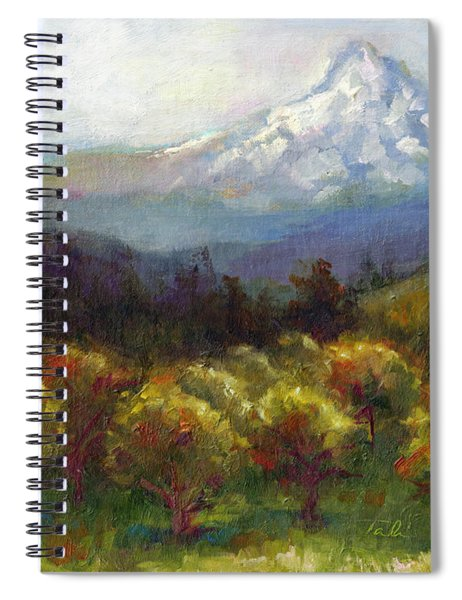 Beyond The Orchards Spiral Notebook