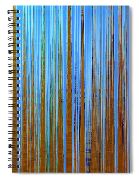 Beyond The Veil  Spiral Notebook by Gina Harrison