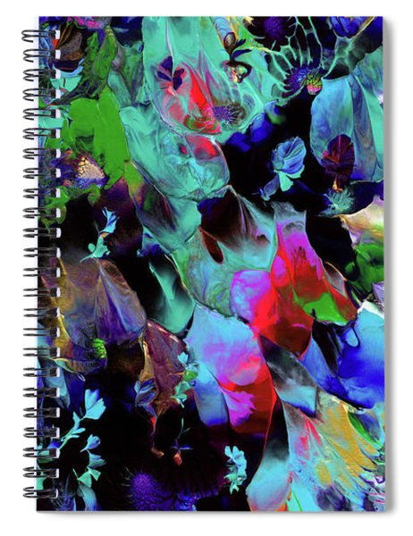 Beyond The Webbed Galaxy Spiral Notebook