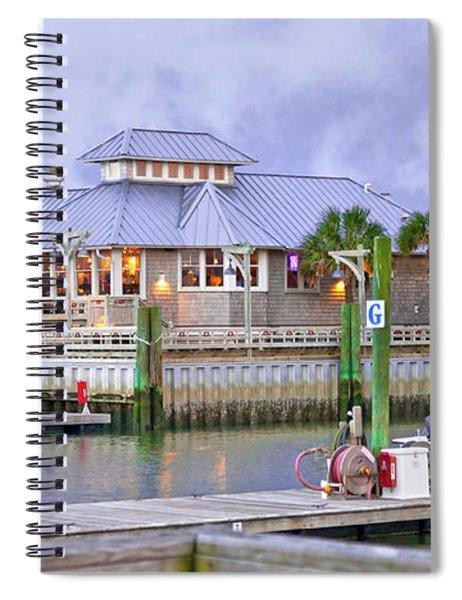 Bhi Marina Purple Hue Evening Spiral Notebook