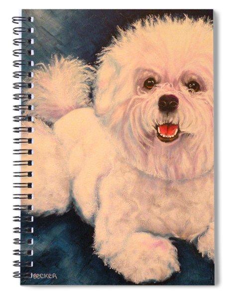 Bichon Frise Spiral Notebook
