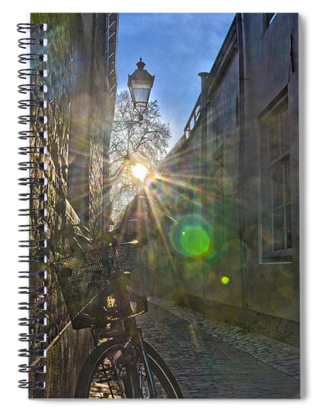 Bicycle Alley Spiral Notebook