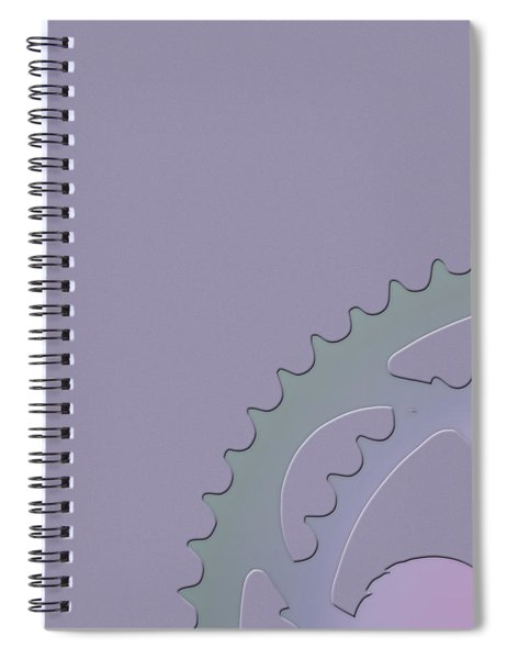 Bicycle Chain Ring - 1 Of 4 Spiral Notebook