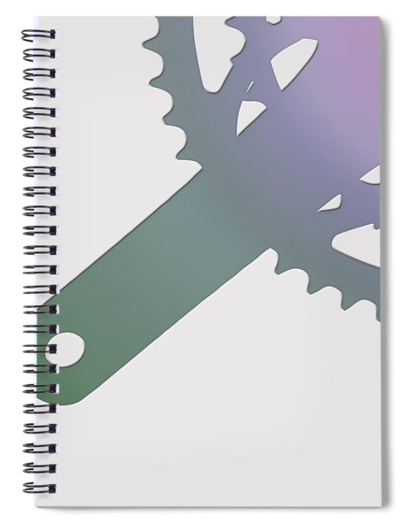 Bicycle Chain Ring - 3 Of 4 Spiral Notebook