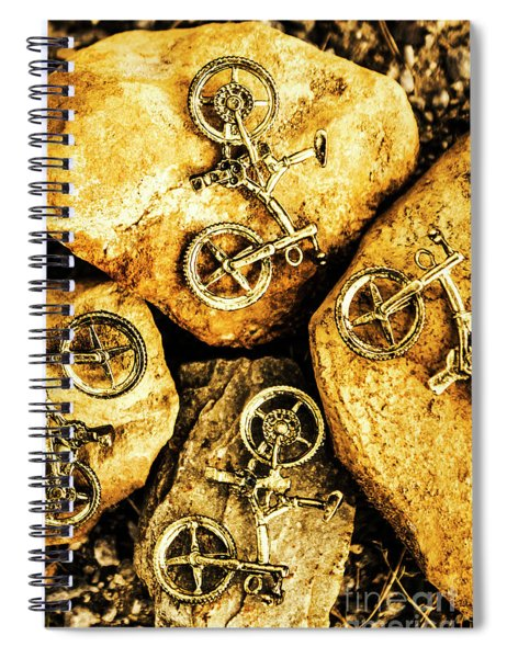 Bicycle Obstacle Course Spiral Notebook