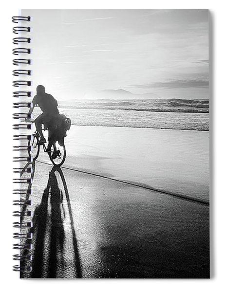 Bicycles Are For The Summer Spiral Notebook