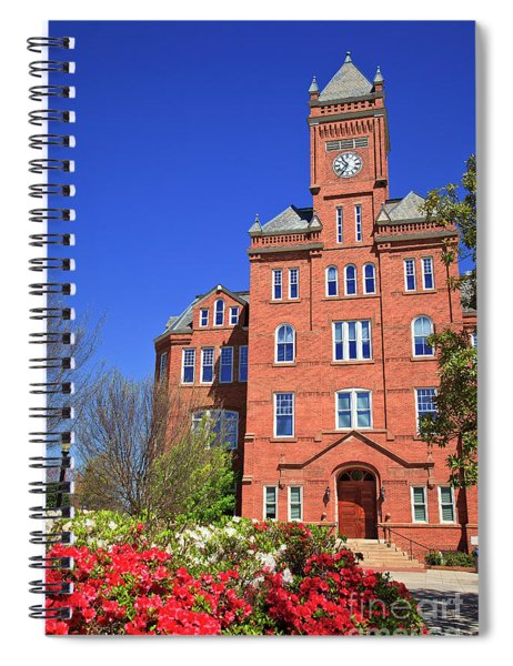 Biddle Hall In The Spring Spiral Notebook