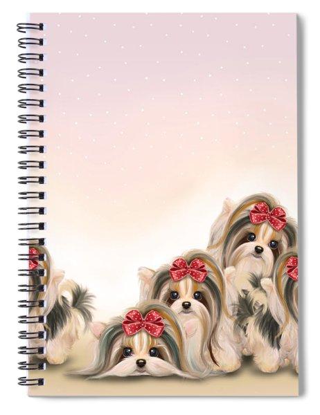 Biewer Pack Spiral Notebook