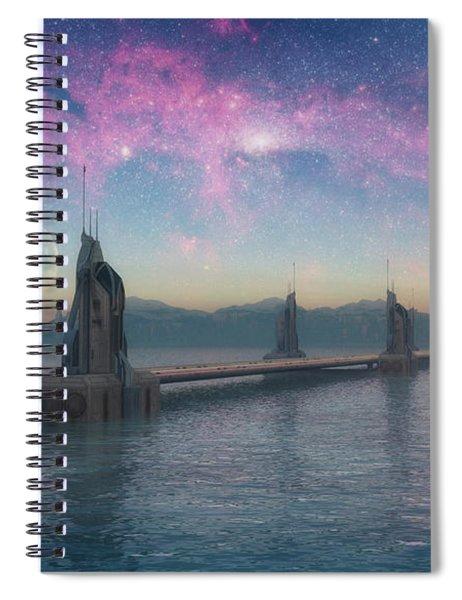 Bifrost Bridge Spiral Notebook