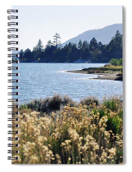 Big Bear Lake Shoreline Spiral Notebook