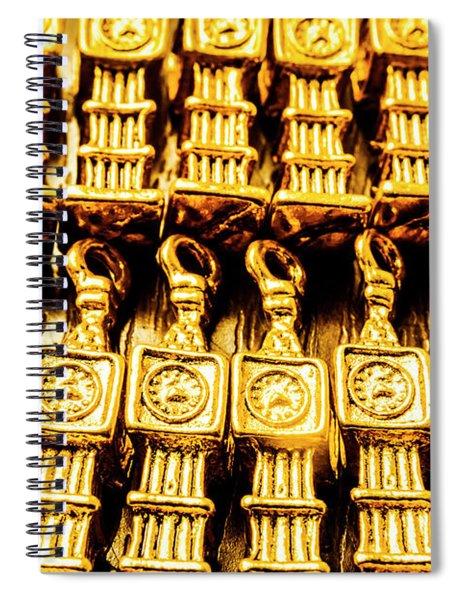 Big Ben The Clock Collector Spiral Notebook