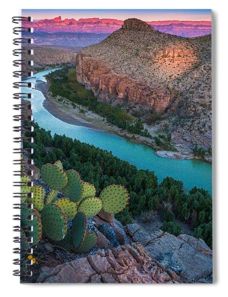 Big Bend Evening Spiral Notebook