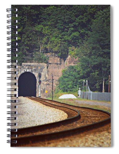 Big Bend Tunnel  Spiral Notebook