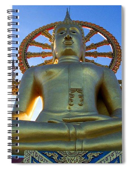 Big Buddha At Koh Samui Spiral Notebook