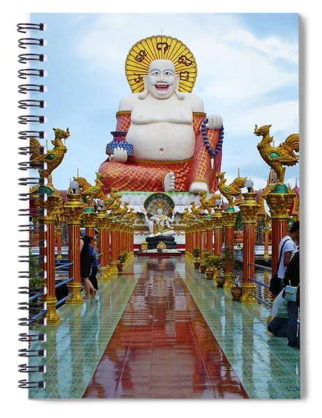 Big Buddha Spiral Notebook