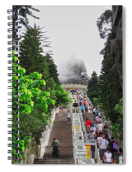 Big Buddha Lantau Island  Spiral Notebook