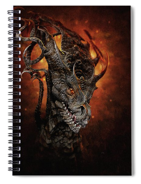 Big Dragon Spiral Notebook