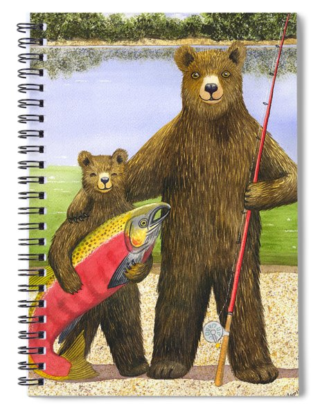 Big Fish Spiral Notebook