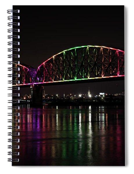 Big Four Bridge 2201 Spiral Notebook