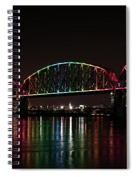 Big Four Bridge 2215 Spiral Notebook