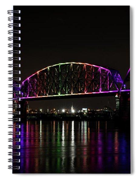 Big Four Bridge 2219 Spiral Notebook