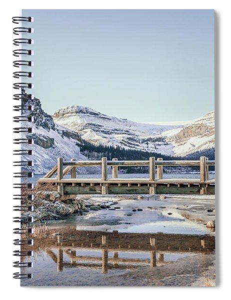 Big Freeze Spiral Notebook