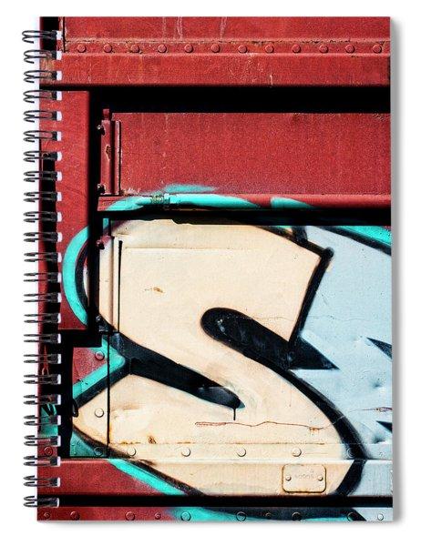 Big Graffiti Letter S Spiral Notebook