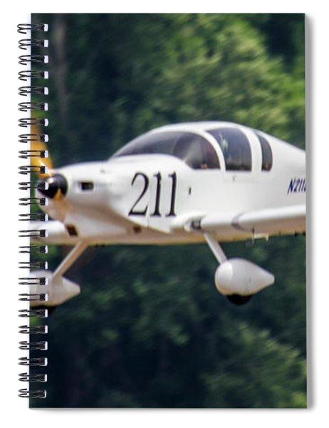 Big Muddy Air Race Number 390 Spiral Notebook