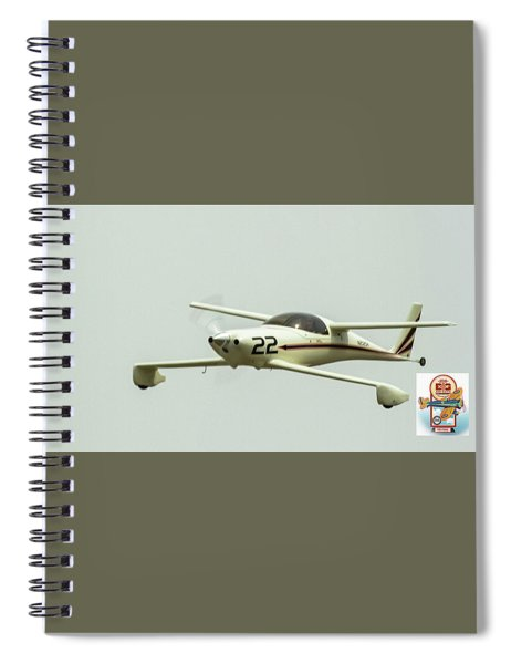 Big Muddy Air Race Number 22 Spiral Notebook