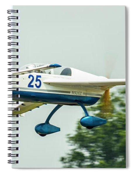 Big Muddy Air Race Number 25 Spiral Notebook