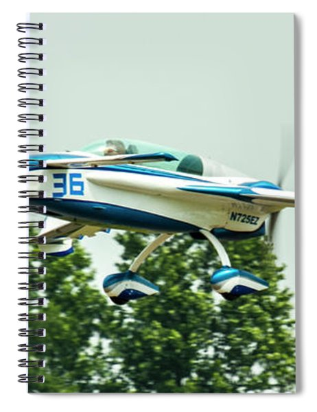 Big Muddy Air Race Number 36 Spiral Notebook