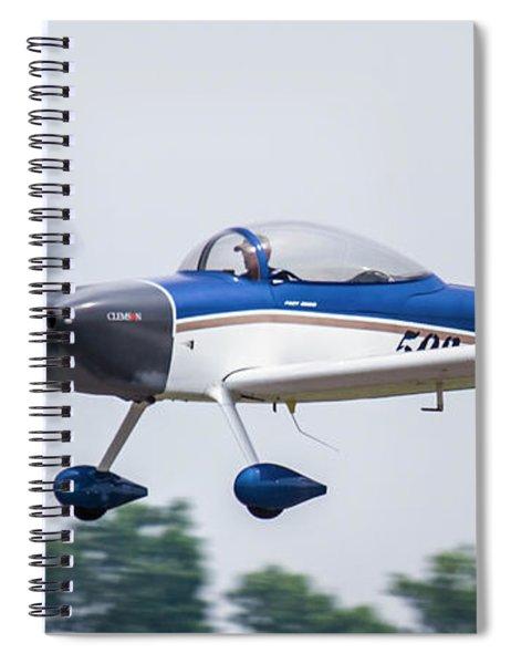 Big Muddy Air Race Number 503 Spiral Notebook