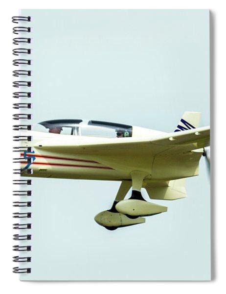 Big Muddy Air Race Number 55 Spiral Notebook