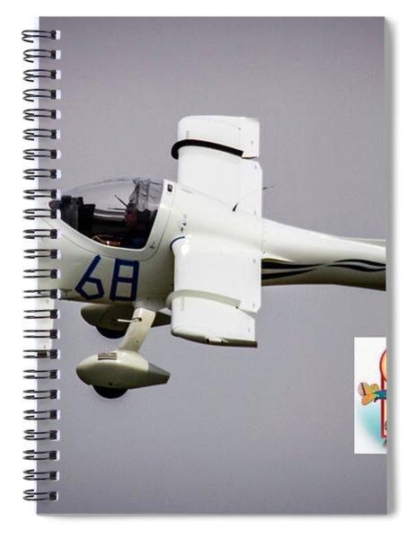 Big Muddy Air Race Number 68 Spiral Notebook