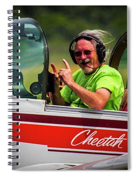 Big Muddy Air Race Number 73 Spiral Notebook