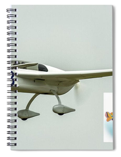 Big Muddy Air Race Number 83 Spiral Notebook