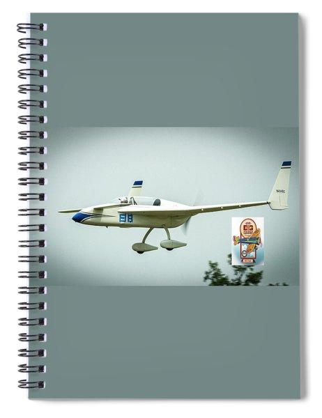 Big Muddy Air Race Number 88 Spiral Notebook