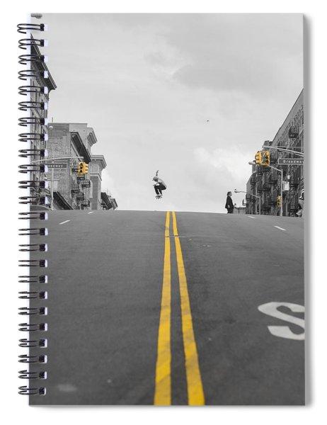 Big Ollie  Spiral Notebook