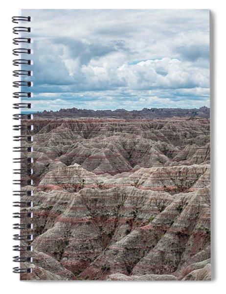Big Overlook Badlands National Park  Spiral Notebook