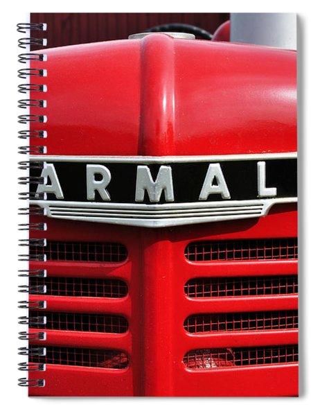 Big Red Farmall Spiral Notebook