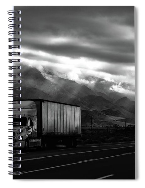 Big Rig Spiral Notebook