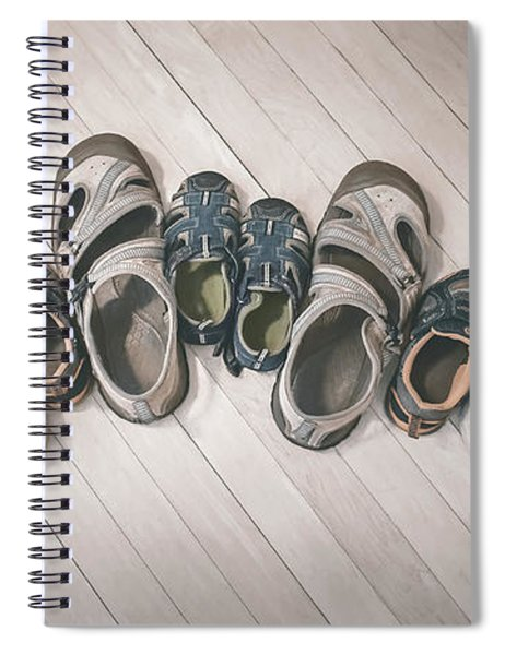 Big Shoes To Fill Spiral Notebook