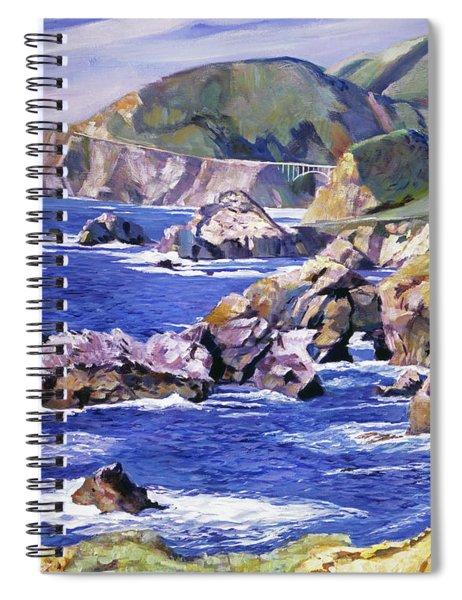 Big Sur California Coast Spiral Notebook