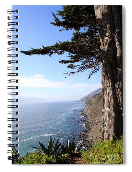 Big Sur Coastline Spiral Notebook
