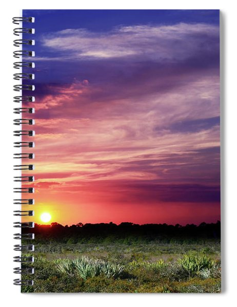 Big Texas Sky Spiral Notebook