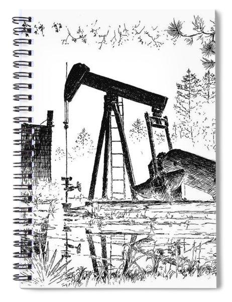Big Thicket Oilfield Spiral Notebook