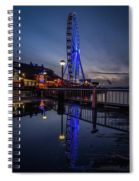 Big Wheel Reflection Spiral Notebook