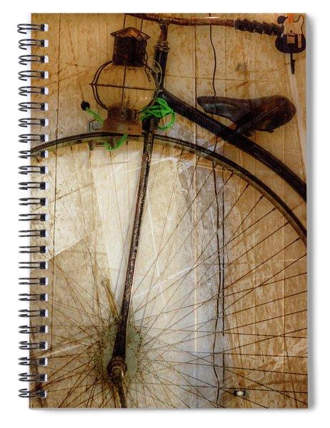 Big Wheels Keep On Turning Spiral Notebook